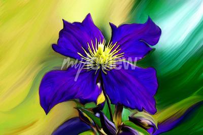 Fotomural Nadmorski Kwiat