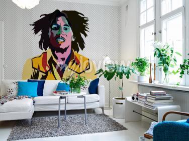 Fotomural Bob Marley