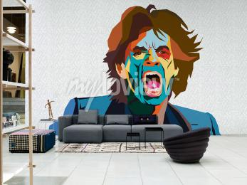 Fotomural Mick Jagger