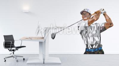 Fotomural Tiger Woods