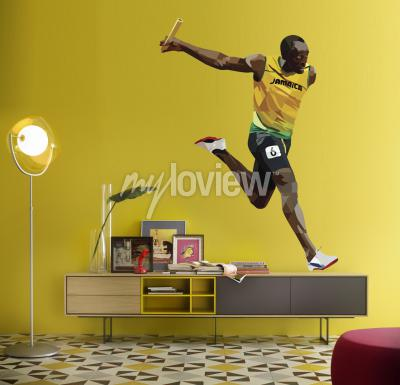 Fotomural Usain Bolt
