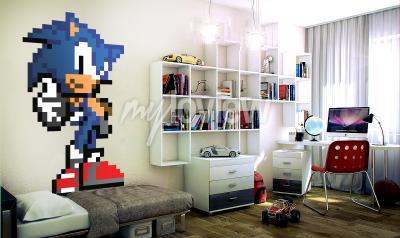 Fotomural De Sonic R