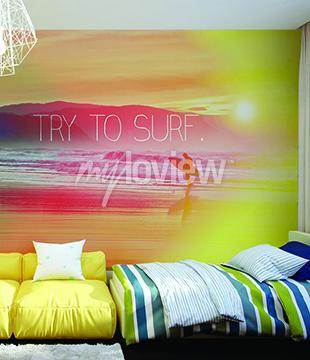 Fotomural Trate de Surf