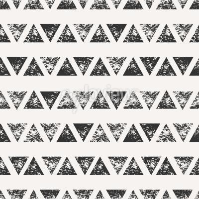 Fotomural Resumen patrón sin fisuras con formas triangulares estampadas