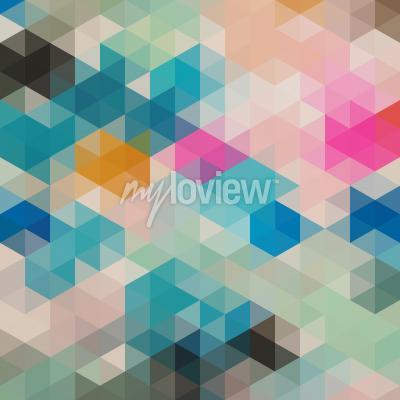 Fotomural Triángulos geométricos 1
