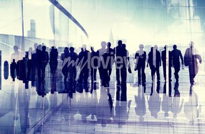 Cuadro Personas de negocios