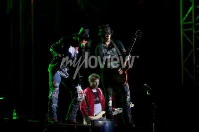 Fotomural Guns N 'Roses se presenta en el EXIT 2012 Music Festival