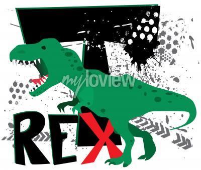 Fotomural Peligroso t-rex
