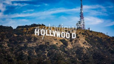 Póster Hollywood sign Los angeles