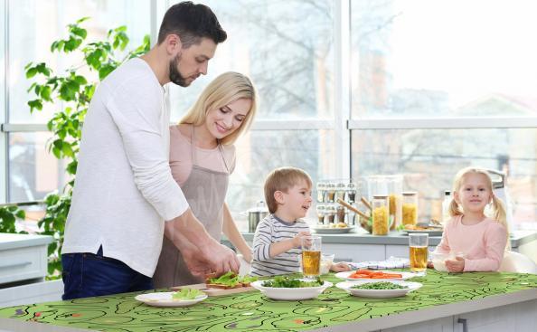 Naklejka na stół kuchenny