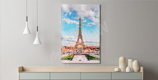 Apastelado cuadro París