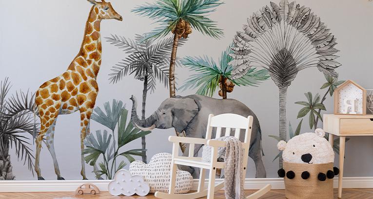 Decoraciones para la habitación de un niño - ¡5 sugerencias para una decoración impresionante!