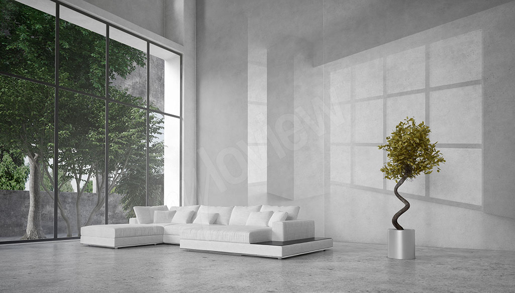 Fotomural 3D moderno
