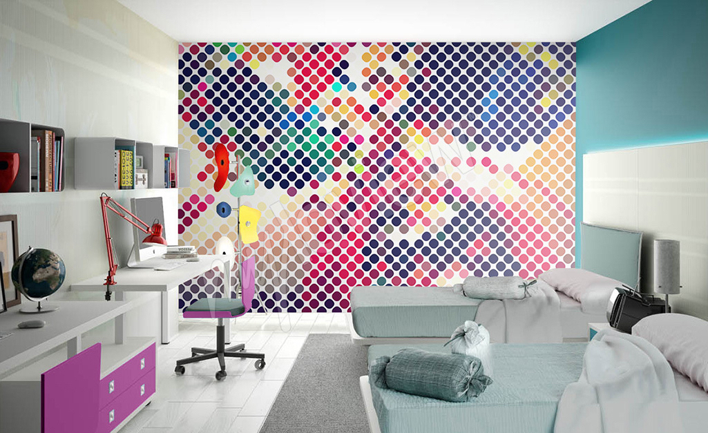 Art culos habitaci n para j venes inspiraci n con - Fotomurales habitacion juvenil ...