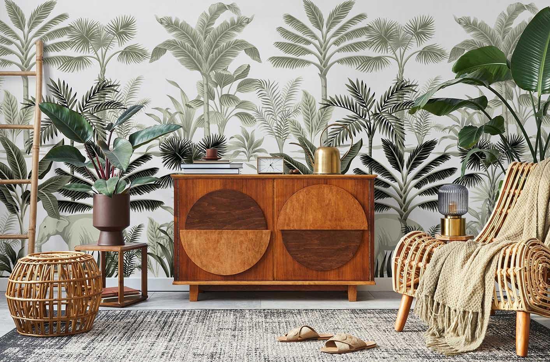 Fotomural palmeras vintage