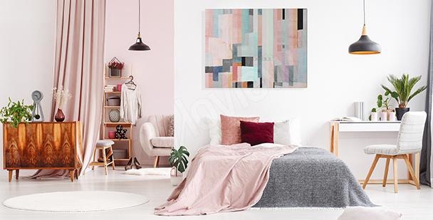 Cuadro abstracto para dormitorio