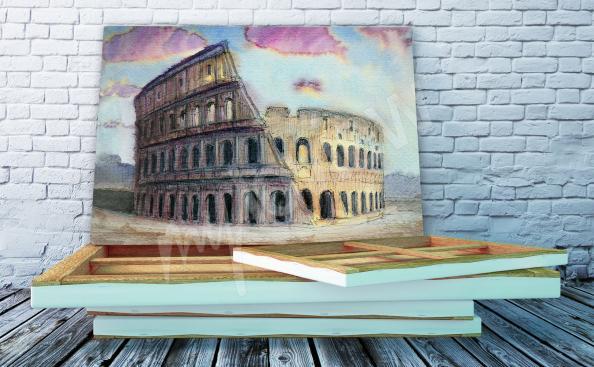 Cuadro arquitectura Piazza Navona