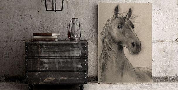 Cuadro cabeza de caballo