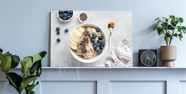 Cuadro cereal saludable