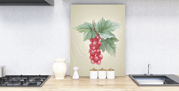 Cuadro con frutas para la cocina
