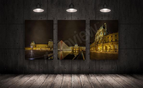 Cuadro de París Louvre