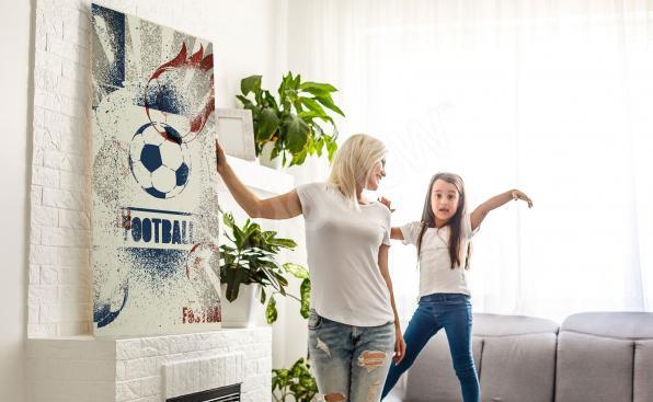 Cuadro deporte para la sala de estar