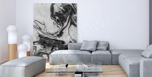 Cuadro en blanco y negro para salón