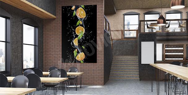 Cuadro frutas para restaurante
