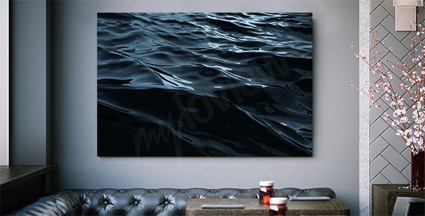 Cuadro gráfico del mar