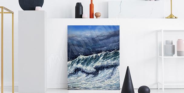 Cuadro mar para el vestíbulo