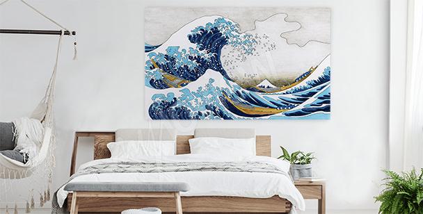 Cuadro mar y tempestad