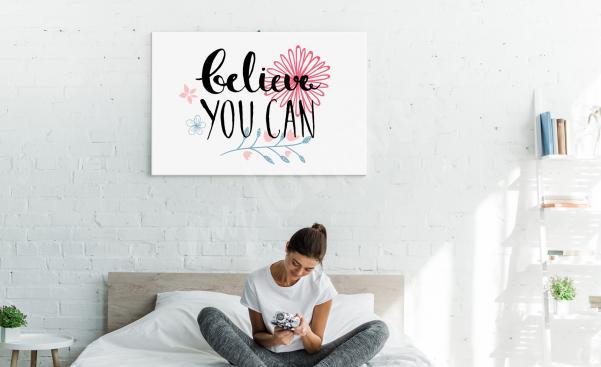 Cuadro motivación para dormitorio