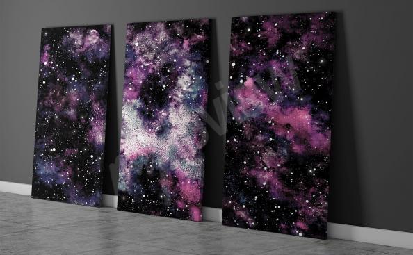 Cuadro nebulosa cósmica