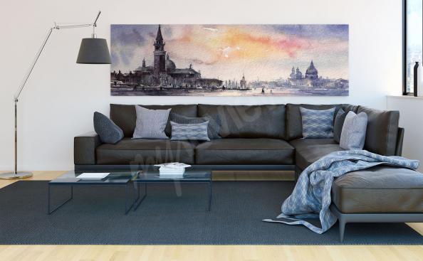 Cuadro panorama de Venecia
