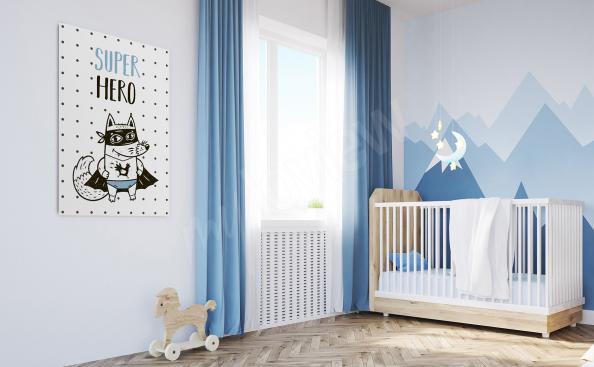 Cuadro para la habitación de un niño pequeño