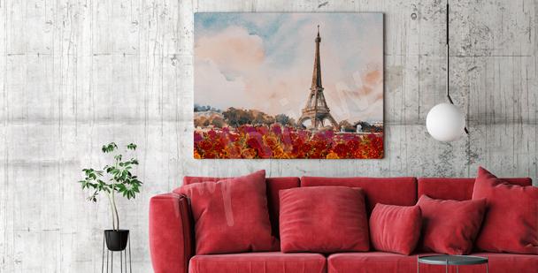 Cuadro París para el salón