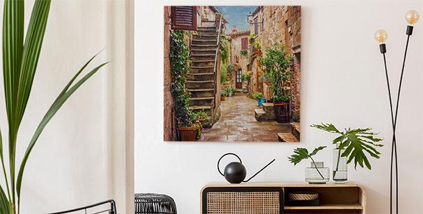 Cuadro pintoresco Toscana