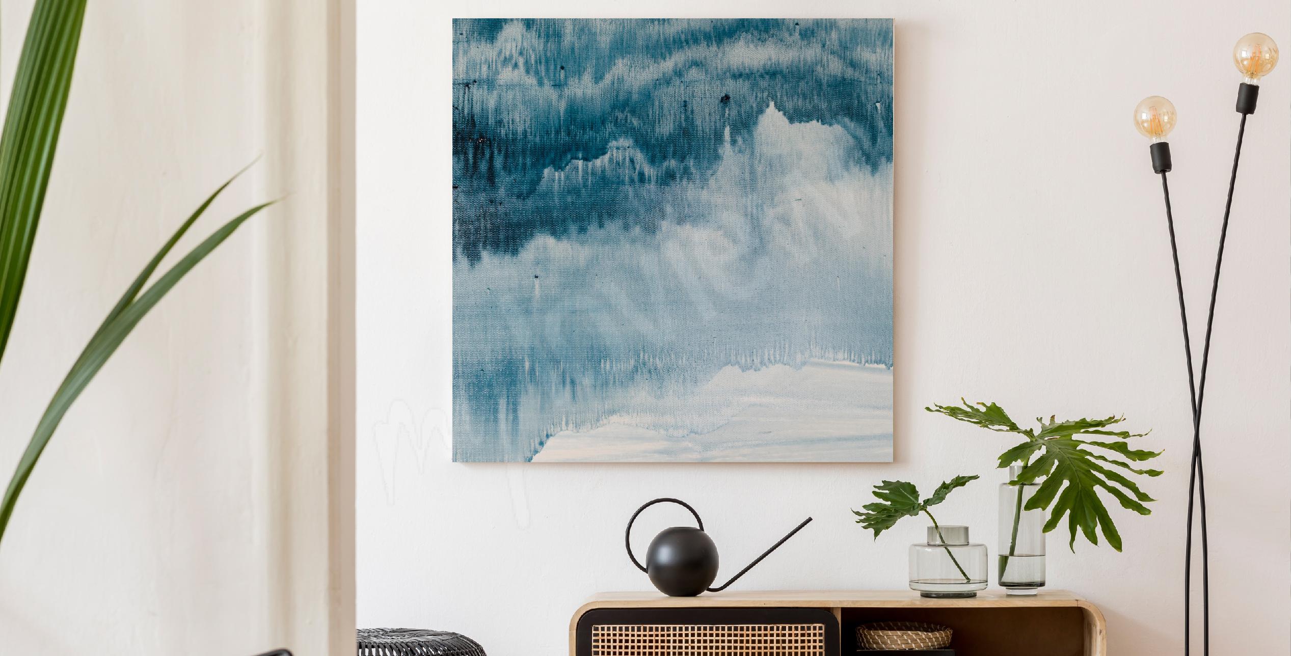 Cuadro pintura abstracta