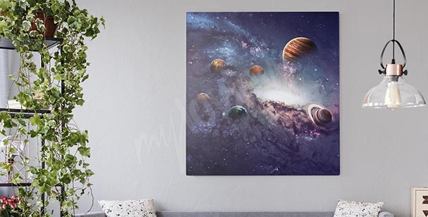 Cuadro planetas del sistema solar