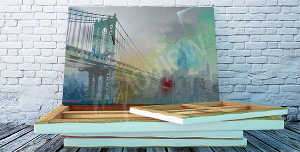 Cuadro puente en Nueva York