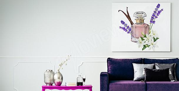 Cuadro salón de estilo francés