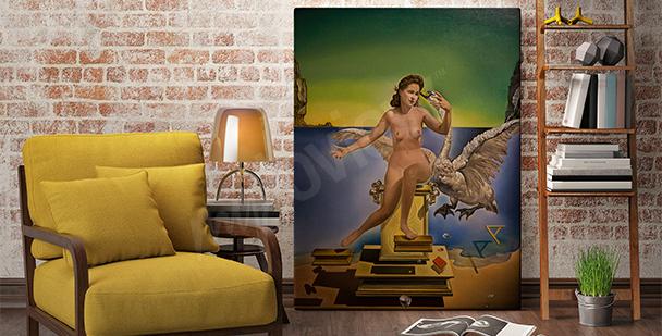 Cuadro surrealismo - pintura