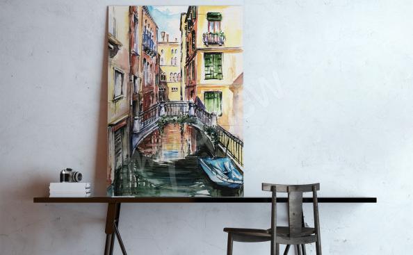 Cuadro Venecia pintura