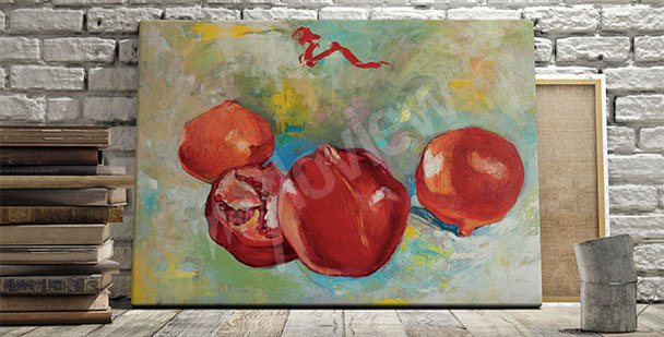 Cuadros frutas de granadas
