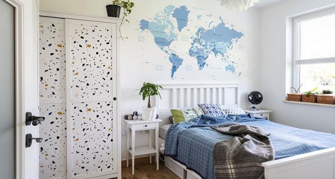 Decoración de un pequeño dormitorio con armario - ¡consulta nuestras sugerencias!