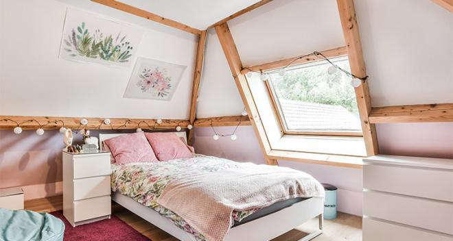 ¿Estás pensando en decorar el dormitorio del ático? ¡Mira nuestras ideas!