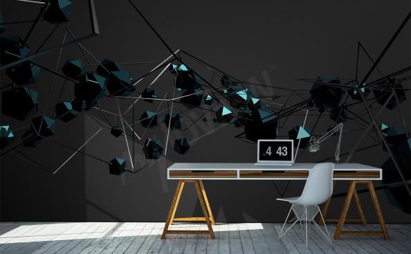 Fotomural 3d abstracción