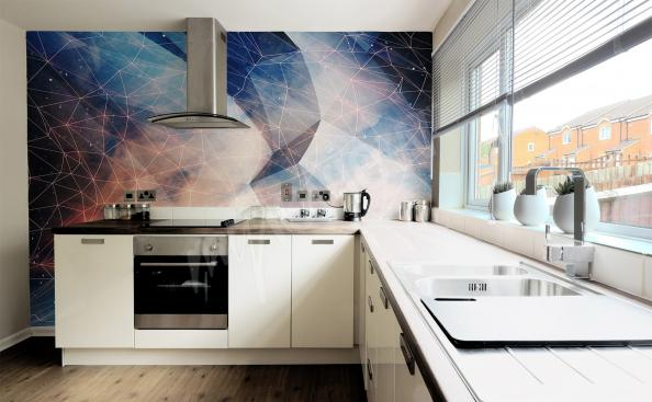 Fotomural 3d para cocina