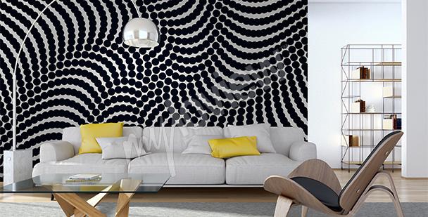 Fotomural abstracto espiral