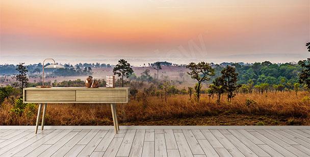 Fotomural africano sabana